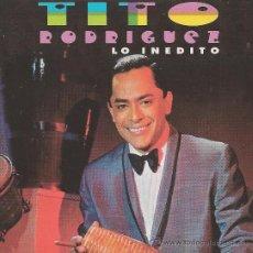 CDs de Musique: TITO RODRIGUEZ. LO INEDITO.CD. Lote 38854577