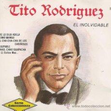 CDs de Musique: TITO RODRIGUEZ. EL INOLVIDABLE. CD. Lote 38854787