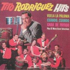 CDs de Musique: TITO RODRIGUEZ. HITS. CD. Lote 38854834