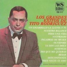 CDs de Musique: TITO RODRIGUEZ. LOS GRANDES EXITOS. CD.. Lote 38855069