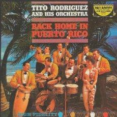 CDs de Musique: TITO RODRIGUEZ.BACK HOME IN PUERTO RICO.CD. Lote 38855149