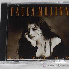 CDs de Música: PAULA MOLINA- LATINO (HIJA DE ANTONIO MOLINA). Lote 40895970