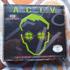 CDs de Música: VARIOUS - ACTV - THE BOX (3XCD, COMP + CD, COMP, MIXED) 4 CD . Lote 38878442