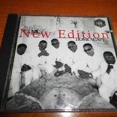 CDs de Música: NEW EDITION HOME AGAIN BOBBY BROWN JOHNNY GILL CD ALBUM 13 TEMAS JIMMY JAM TERRY LEWIS AÑO 1996. Lote 52279113