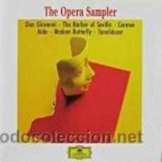 CDs de Música: THE OPERA SAMPLER. Lote 38895204