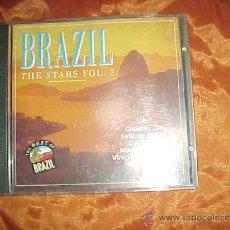 CDs de Música: BRAZIL THE STARS VOL. 3. GILBERTO GIL. FAFA DE BELEM. GAL COSTA ... THE BEST OF BRAZIL CD. Lote 38909782