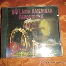 CDs de Música: 20 LATIN AMERICAN FAVOURITES. MALAGUENA. LA BAMBA. MARIA MUCHENA ... CD .IMPECABLE (#). Lote 38910048