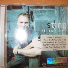 CDs de Música: CD - STING - ALL THIS TIME - THE POLICE. Lote 38926026