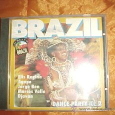 CDs de Música: BRAZIL. DANCE PARTY VOL. 2. THE BEST OF BRAZIL. CD EDICION HOLANDESA. Lote 38938063