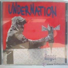 CDs de Música: UNDERNATION - ANGER - NUEVO Y PRECINTADO. Lote 38959332