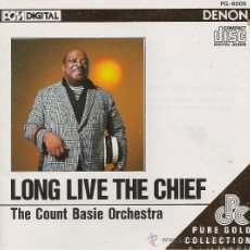 CDs de Música - THE COUNT BASIE ORCHESTRA. LONG LIVE THE CHIEF. CD DENOM - 38963029