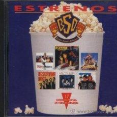 CDs de Música: ESTRENOS BANDA SONORA ORIGINAL BSO. Lote 38985397