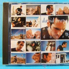 CDs de Música: STONEDOORS - DAVID BROZA - ISRAEL - 12 PAG.FOTOS,LETRAS INGLES - U.S.A. MESA BLUEMOON 1995 - CD ... . Lote 39004155