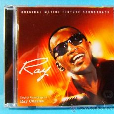CDs de Música: ORIGINAL RECORDINGS MOTION PICTURE SOUNDTRACK BY RAY CHARLES -RHINO MADE IN THE E.U. - 2004 - CD .... Lote 39004832