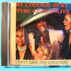 CDs de Música: DON'T TAKE MY COCONUTS - KID CREOLE AND THE COCONUTS - MCPS PILZ MADE IN GERMANY - 1993 - CD .... Lote 39016909