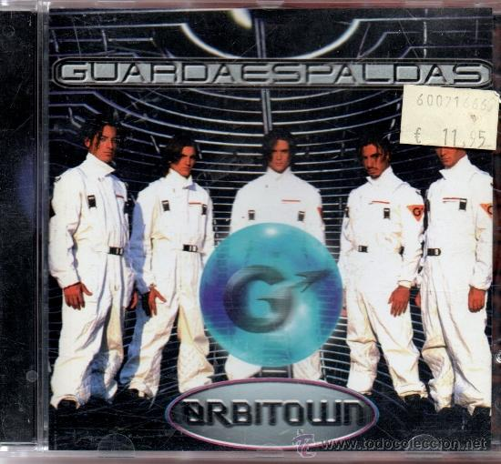 CD GUARDA ESPALDAS ORBITWN (Música - CD's Otros Estilos)
