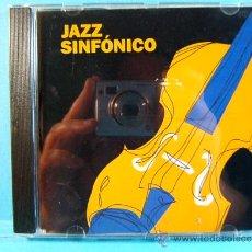 CDs de Música: JAZZ SINFONICO PARA EL GRUPO ASEGURADOR CATALANA OCCIDENTE - SARRIA - SANT CUGAT - 2001 - CD .... Lote 39024220