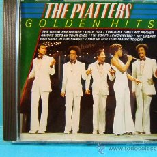 CDs de Música: GOLDEN HITS - THE PLATTERS - MASTERS MADE AND PRINTED IN WEST GERMANY - HOLANDA - ???? - CD ... . Lote 39024332