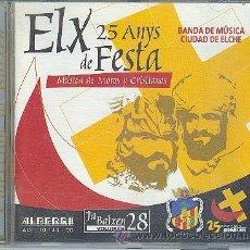 CDs de Música: ELX DE FESTA 25 ANYS - MARCHAS MORAS Y CRISTIANAS 2002. Lote 39024370