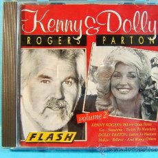 CDs de Música: KENNY & Y DOLLY -KENNY ROGERS -DOLLY PARTON -VOL.2 -FLASH STEMRA MADE IN GERMANY-HOLANDA- ???? -CD... Lote 39024722
