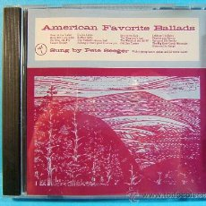 CDs de Música: AMERICAN FAVORITE BALLADS SONGS AND TUNES - SUNG BY PETE SEEGER - VOL.1-2-3-4 - 1994 - 4 CD VER.... Lote 39025468
