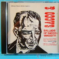 CDs de Música: BALLADS OF SACCO & Y VANZETTI - 1946/47 - ITALIA U.S.A. FOLKWAYS RECORDS DIAL DISCOS - 1991 - CD .... Lote 39026355