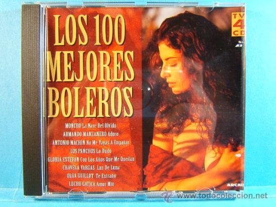 LOS 100 MEJORES BOLEROS DEL MUNDO - COMPLETO CD 1-2-3-4. - ARCADE - 1996 - CUATRO CD VER .... (Música - CD's Latina)