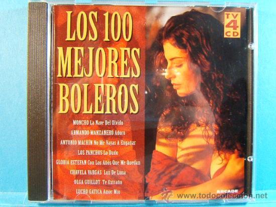 CDs de Música: LOS 100 MEJORES BOLEROS DEL MUNDO - COMPLETO CD 1-2-3-4. - ARCADE - 1996 - CUATRO CD VER .... - Foto 3 - 39026446
