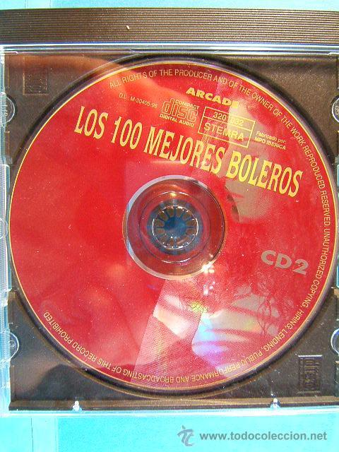 CDs de Música: LOS 100 MEJORES BOLEROS DEL MUNDO - COMPLETO CD 1-2-3-4. - ARCADE - 1996 - CUATRO CD VER .... - Foto 4 - 39026446