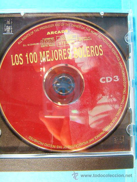 CDs de Música: LOS 100 MEJORES BOLEROS DEL MUNDO - COMPLETO CD 1-2-3-4. - ARCADE - 1996 - CUATRO CD VER .... - Foto 5 - 39026446