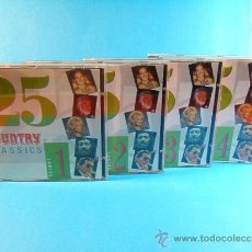 CDs de Música: 25 100 COUNTRY CLASSICS - FULL - VOLUME 1-2-3-4. -A TRING IN THE EEC MCPS LONG ISLAND- ???? - CD .... Lote 39026663