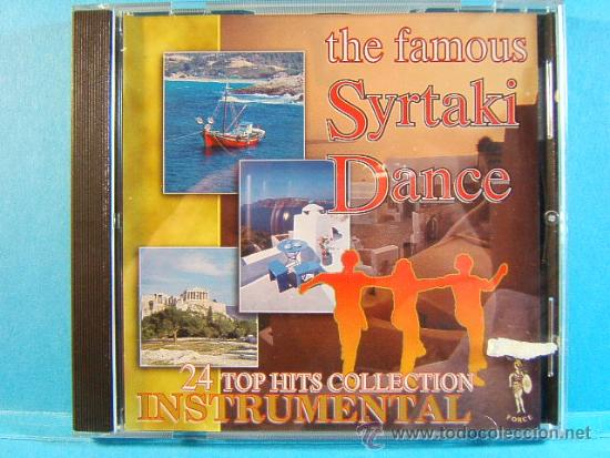 CDs de Música: THE FAMOUS SYRTAKI DANCE - 24 TOP HITS INSTRUMENTAL BEST -CORSA FORCE GREECE GRECIA - ???? - CD ... - Foto 1 - 39026818