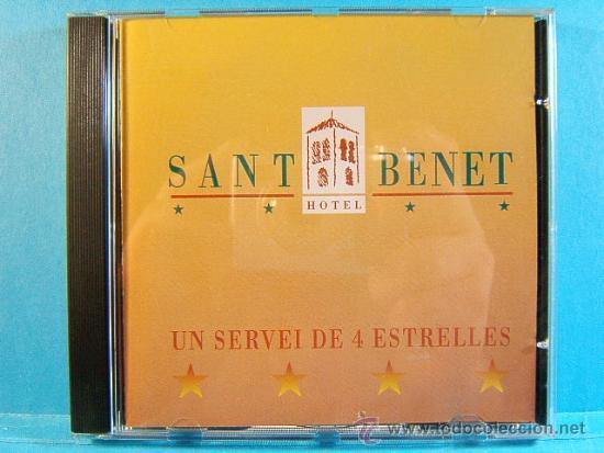 SANT BENET - HOTEL 4 ESTRELLAS Y RESTAURANTE SANT FRUITOS DE BAGES - MANRESA - EME - 1999 - CD ... (Música - CD's Otros Estilos)