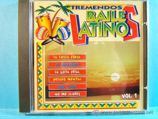 TREMENDOS BAILES LATINOS-MERENGUE,VALLENATO,SALSA,CUMBIA,MAMBO, BACHATA,GUARACHA,LATINO-1998-3 CD... (Música - CD's Latina)