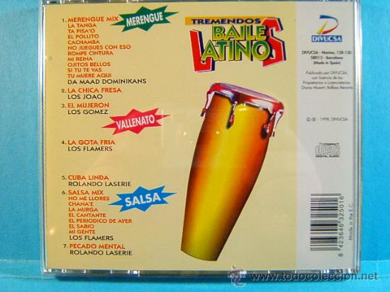 CDs de Música: TREMENDOS BAILES LATINOS-MERENGUE,VALLENATO,SALSA,CUMBIA,MAMBO, BACHATA,GUARACHA,LATINO-1998-3 CD... - Foto 2 - 39027602