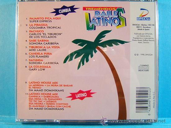 CDs de Música: TREMENDOS BAILES LATINOS-MERENGUE,VALLENATO,SALSA,CUMBIA,MAMBO, BACHATA,GUARACHA,LATINO-1998-3 CD... - Foto 4 - 39027602