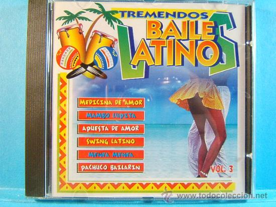 CDs de Música: TREMENDOS BAILES LATINOS-MERENGUE,VALLENATO,SALSA,CUMBIA,MAMBO, BACHATA,GUARACHA,LATINO-1998-3 CD... - Foto 5 - 39027602