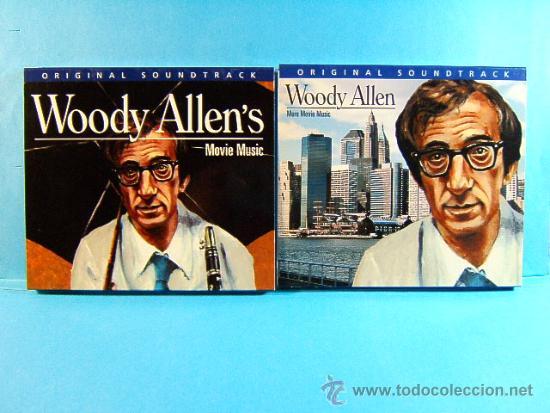 WOODY ALLEN - ORIGINAL SOUNDTRACK MORE MOVIE MUSIC -DISCONFORME EDICION ANDORRA- 2002 - DOS CD ... (Música - CD's Jazz, Blues, Soul y Gospel)