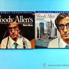 CDs de Música: WOODY ALLEN - ORIGINAL SOUNDTRACK MORE MOVIE MUSIC -DISCONFORME EDICION ANDORRA- 2002 - DOS CD ... . Lote 39028295