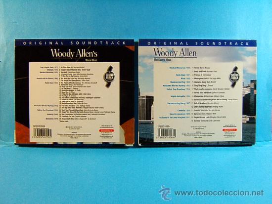 CDs de Música: WOODY ALLEN - ORIGINAL SOUNDTRACK MORE MOVIE MUSIC -DISCONFORME EDICION ANDORRA- 2002 - DOS CD ... - Foto 4 - 39028295