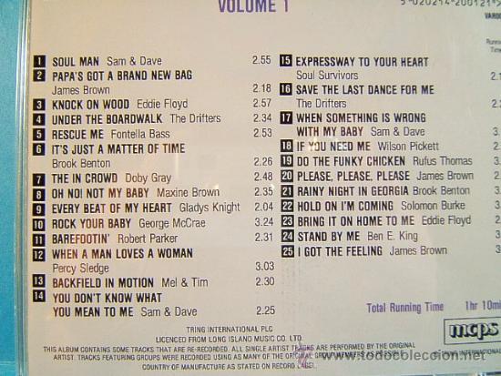 CDs de Música: 25 100 SOUL HITS - COMPLETO VOL. 1-2-3-4. - TRING LONG ISLAND MCPS IN THE EEC - ???? - CUATRO CD ... - Foto 2 - 39028771