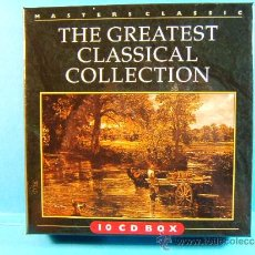 CDs de Música: THE GREATEST CLASSICAL COLLECTION-MASTERS CLASSIC-MASTERS MADE IN GERMANY HOLANDA- ??? -10 BOX CD.... Lote 39029417