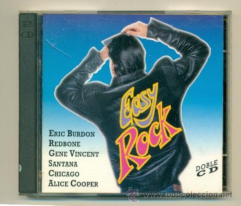 EASY ROCK 30 TEMAS EN DOS CDS 1994 -SANTANA ERIC BURDON CHICAGO... (Música - CD's Rock)