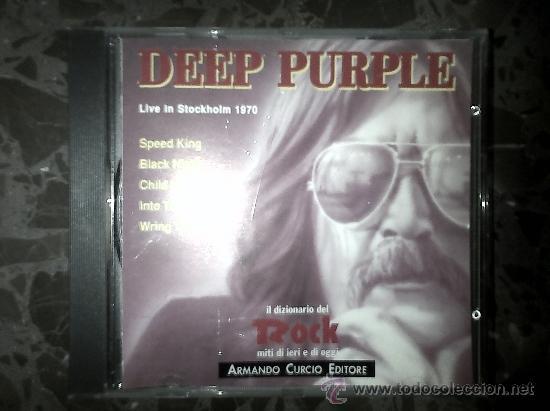 DEEP PURPLE. LIVE IN STOCKHOLM 1970. IL DIZIONARIO DE ROCK. 1991 (Música - CD's Rock)