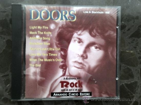 DOORS. LIVE IN STOCKHOLM 1968. IL DIZIONARIO DEL ROCK, 1991 (Música - CD's Rock)