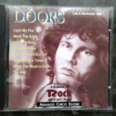 CDs de Música: DOORS. LIVE IN STOCKHOLM 1968. IL DIZIONARIO DEL ROCK, 1991. Lote 39063340