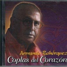 CDs de Música: CD ARMANDO BOHORQUEZ. COPLAS DEL CORAZON. CANCION ESPAÑOLA. Lote 39075294