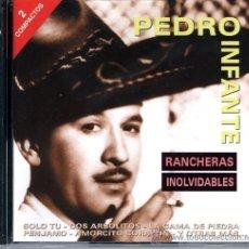 CD de Música: CD PEDRO INFANTE. RANCHERAS INOLVIDABLES. Lote 295272598