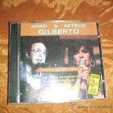CDs de Música: JOAO & ASTRUD GILBERTO. VERSIONES ORIGINALES. 2 CD DISQUERIA 1999. Lote 39088296