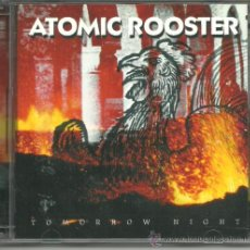 CDs de Música: ATOMIC ROOSTER- TOMORROW NIGHT CD DOBLE HARD ROCK A ESTRENAR. Lote 39091892